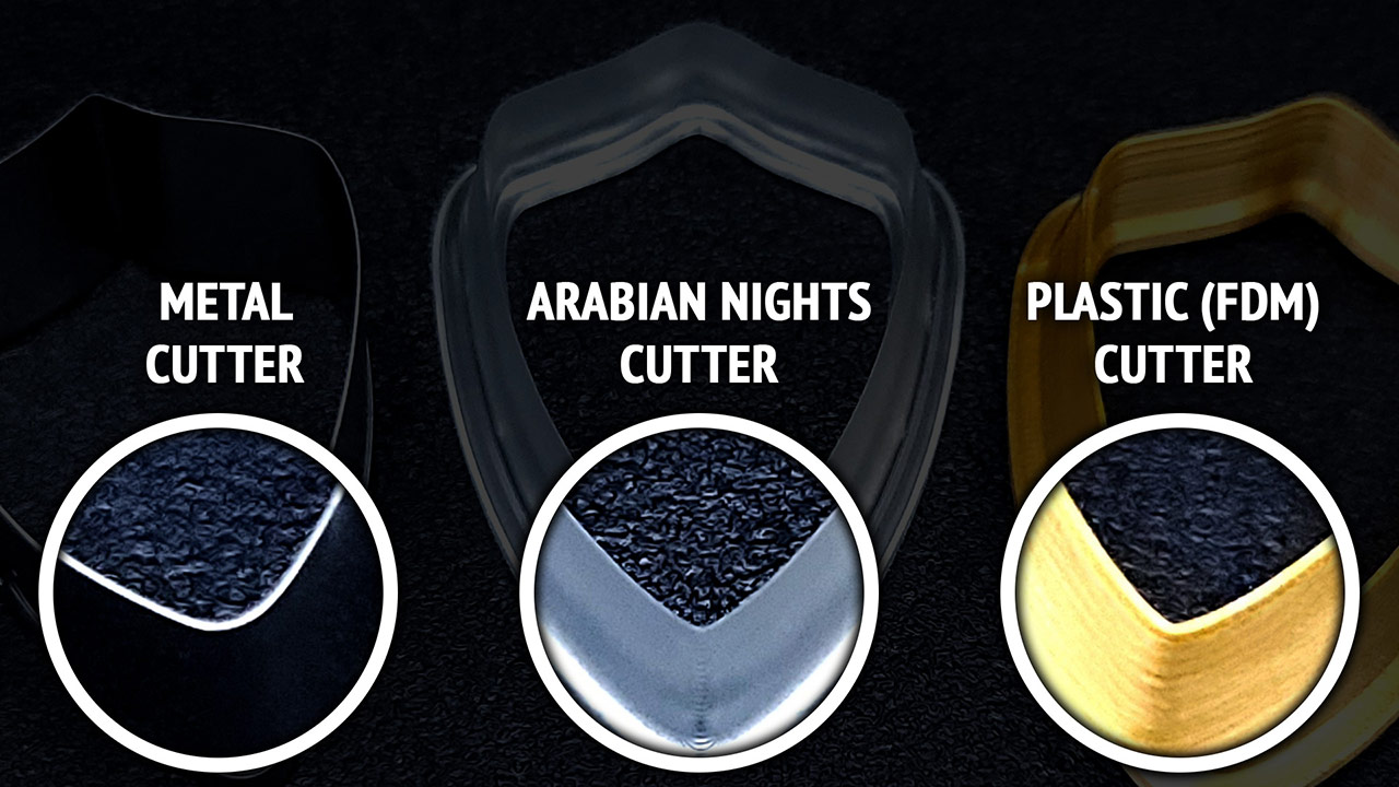 Arabian Nights - The thinnest cutters you've ever seen