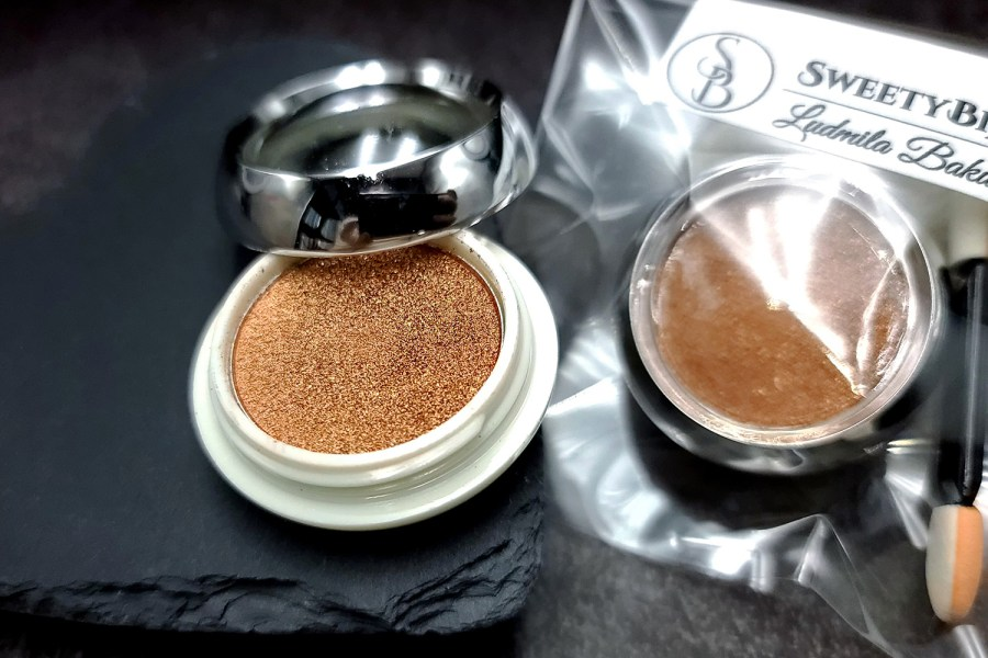 """Solid Powder """"Copper"""" with Metal and Chrome Effect Pigment Powder 4"""