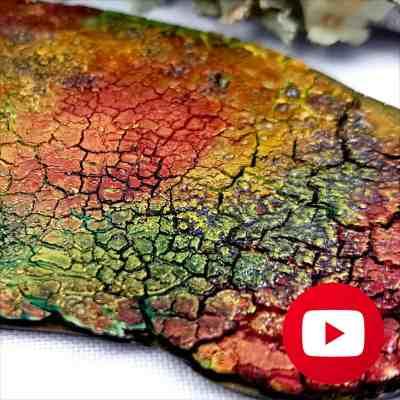 How to make Unique Crackle Surface Technique