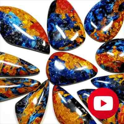 How to make realistic Pietersite stone imitation