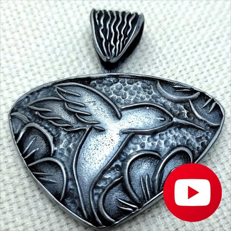 How to make quick bails for pendants