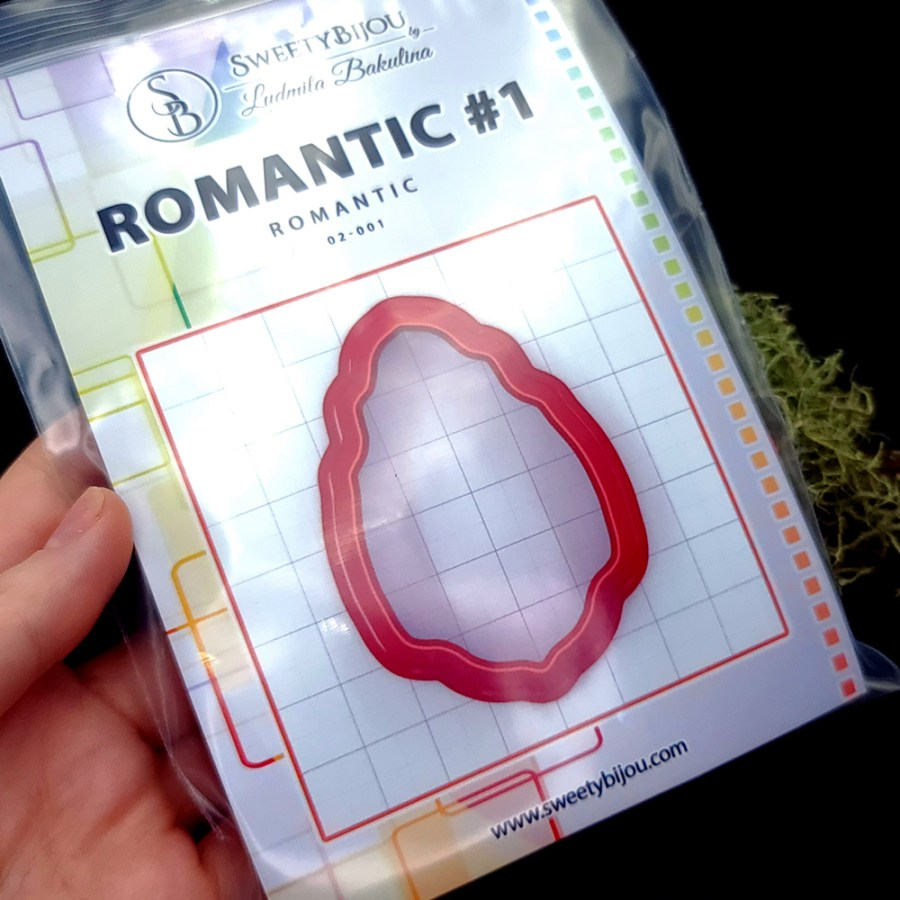 Set of 5 cutters: ROMANTIC#1