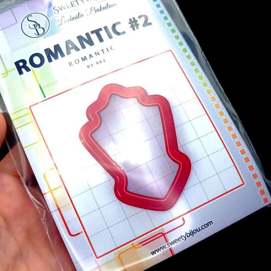 Set of 5 cutters: ROMANTIC#2