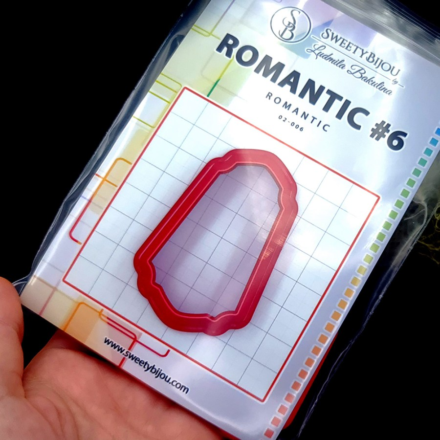 Set of 5 cutters: ROMANTIC#6