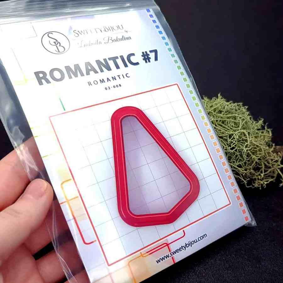Set of 5 cutters: ROMANTIC#7