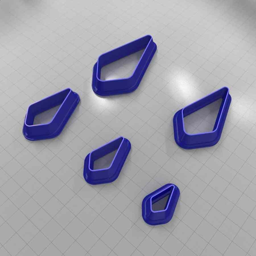 Set of 5 cutters: DROPS#5