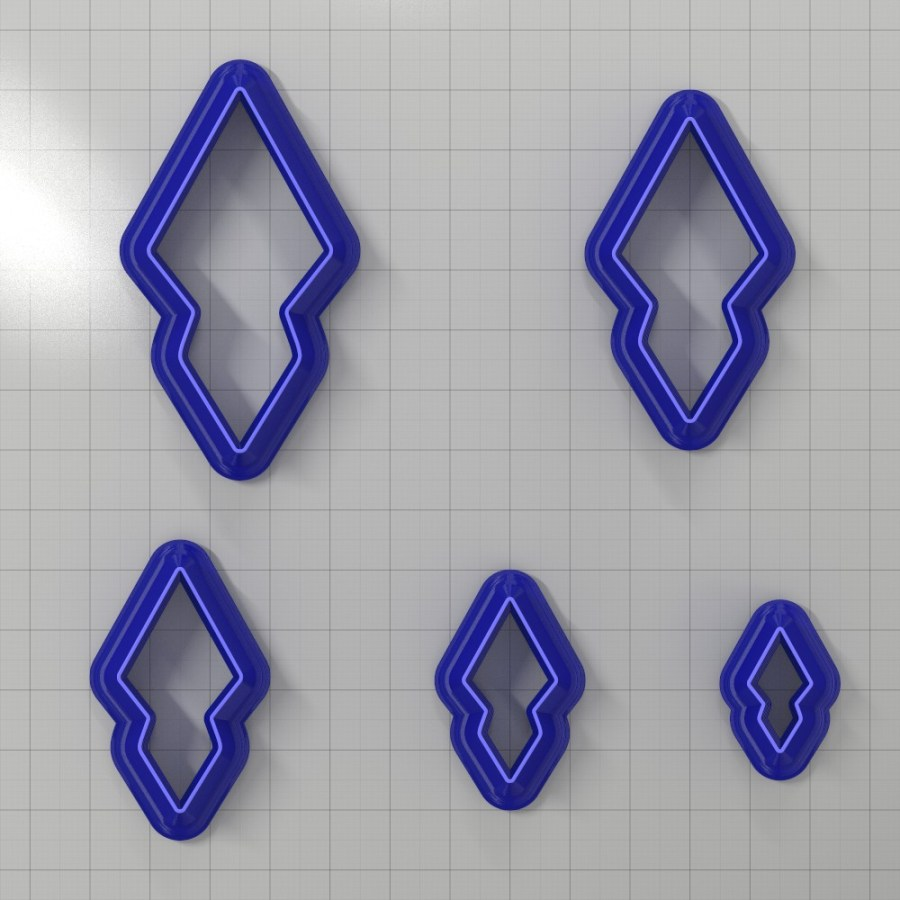Set of 5 cutters: DROPS#33