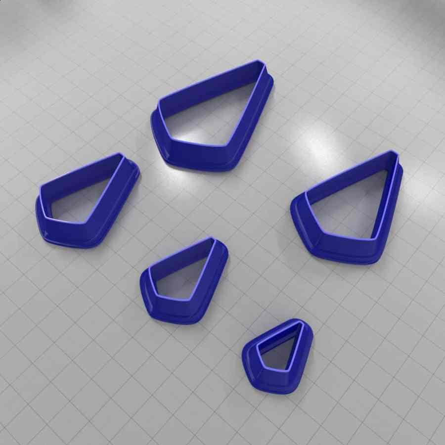 Set of 5 cutters: DROPS#36
