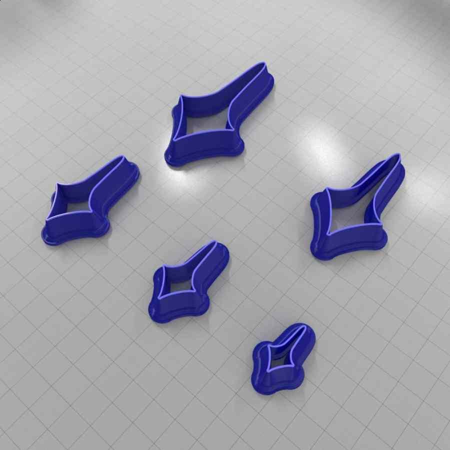 Set of 5 cutters: DROPS#46