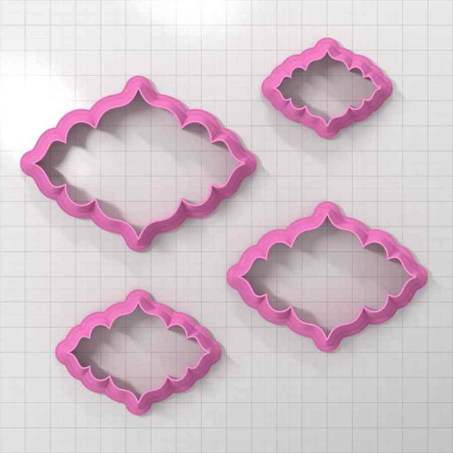 Set of 4 cutters - Focal Element #3 - 3,4,5,6cm