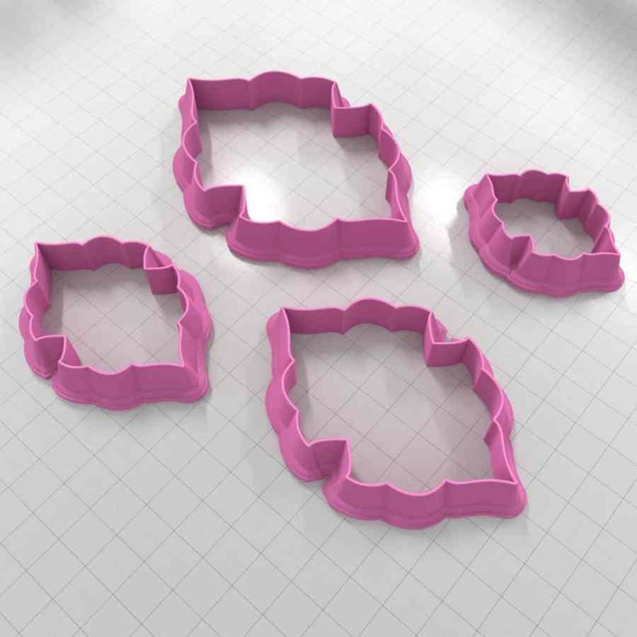 Set of 4 cutters - Focal Element #9 - 3,4,5,6cm