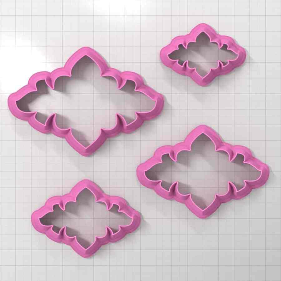 Set of 4 cutters - Focal Element #11 - 3,4,5,6cm