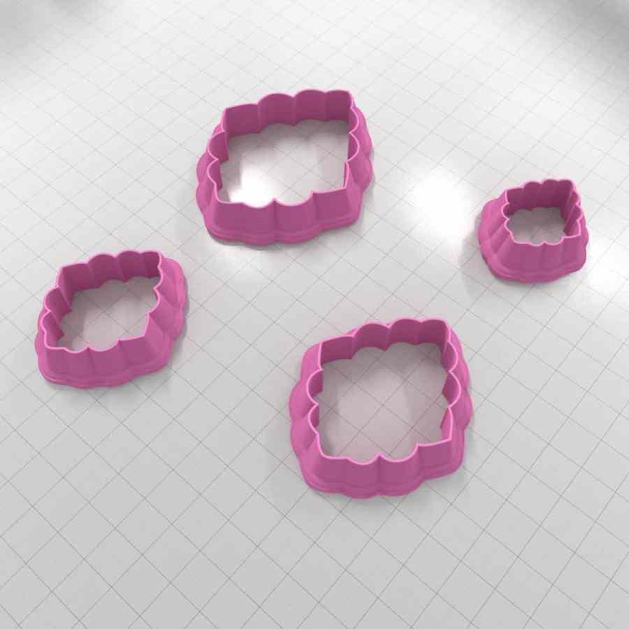 Set of 4 cutters - Focal Element #13 - 3,4,5,6cm