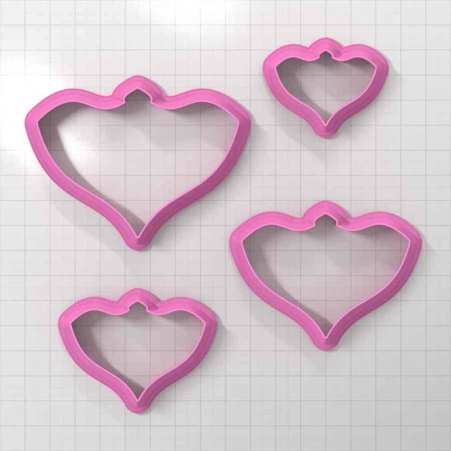 Set of 4 cutters - Focal Element #16 - 3,4,5,6cm