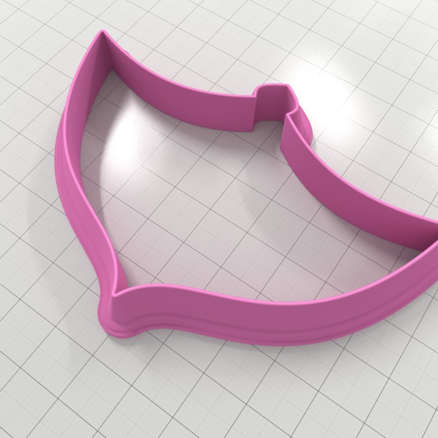 Set of 4 cutters – Focal Element #17 – 3,4,5,6cm