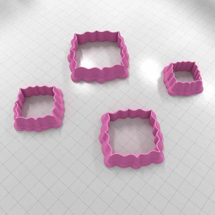 Set of 4 cutters – Focal Element #23 – 3,4,5,6cm