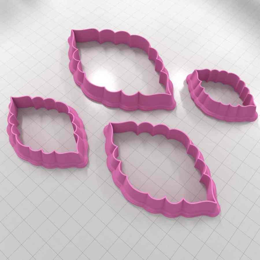 Set of 4 cutters – Focal Element #24 – 3,4,5,6cm