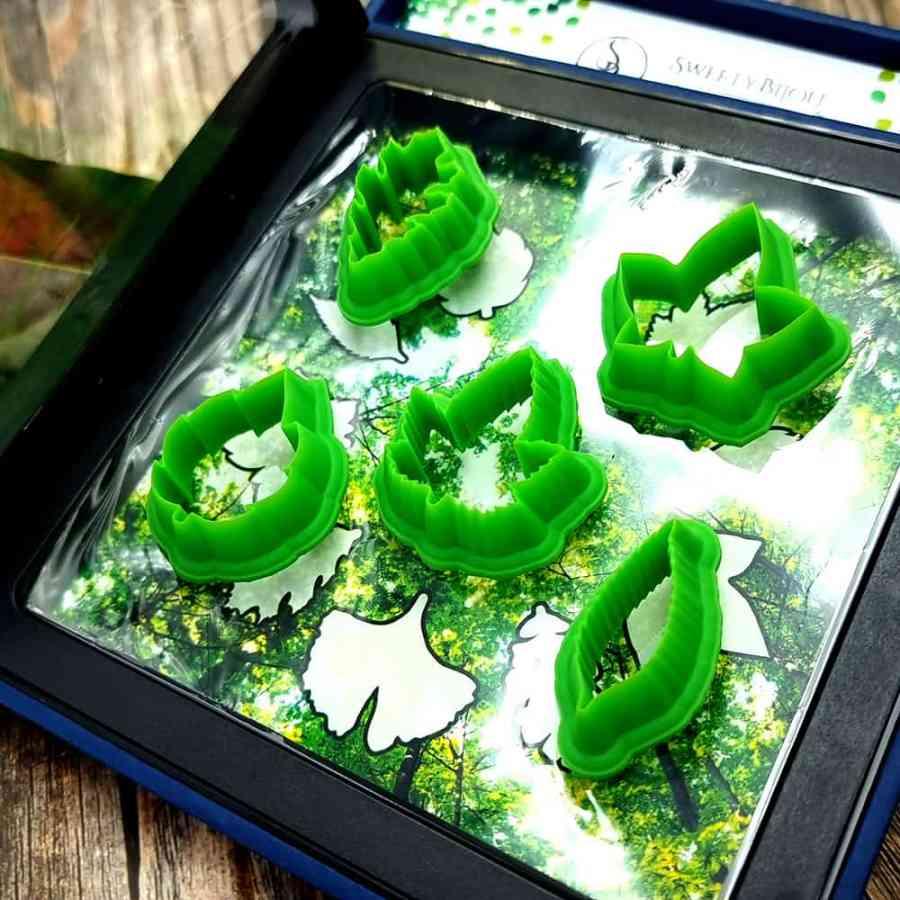 Magic Forest Cutters - Set #1 of 5 mini cutters