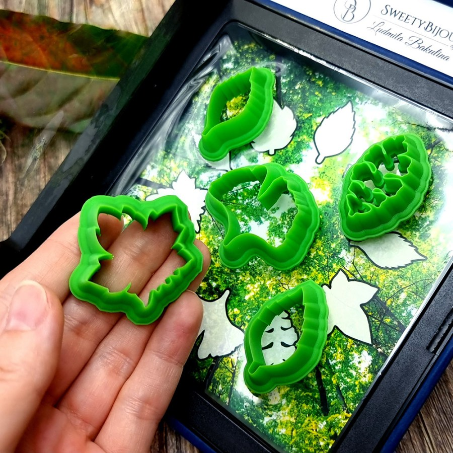 Magic Forest Cutters - Set #2 of 5 mini cutters