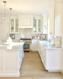 Amazing White Kitchen Design Ideas Which Will Make You Like Cooking 20