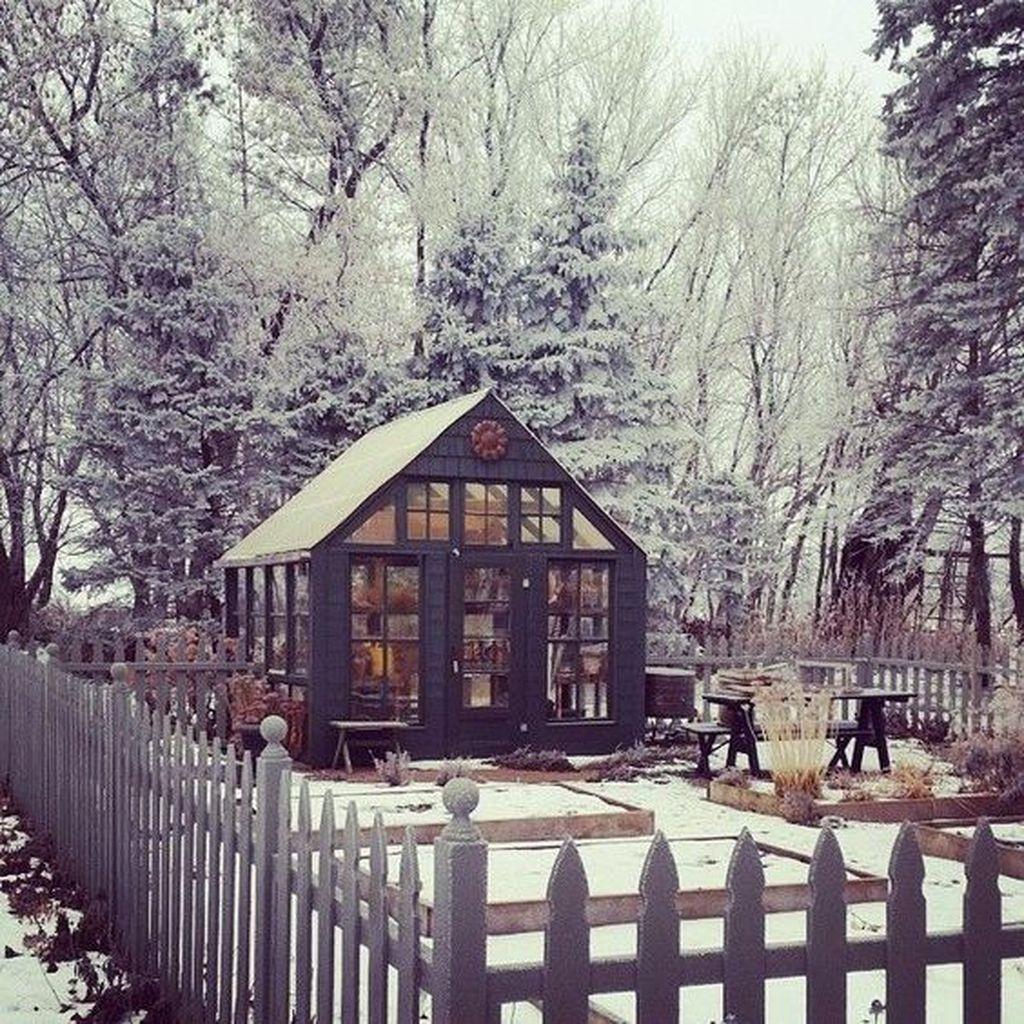 Amazing Winter Garden Landscape 13