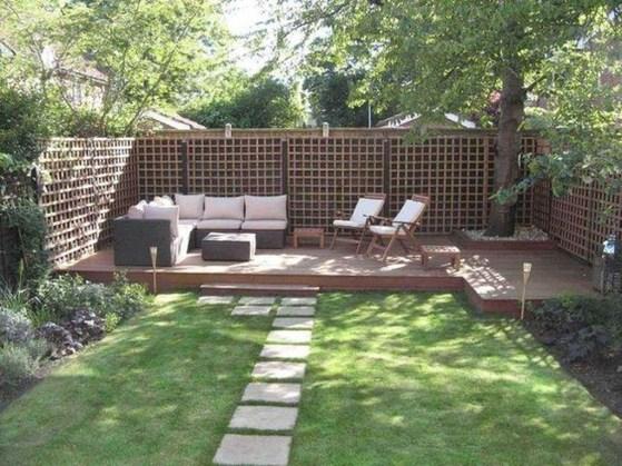 Beautiful Small Backyard Landscaping Ideas 11