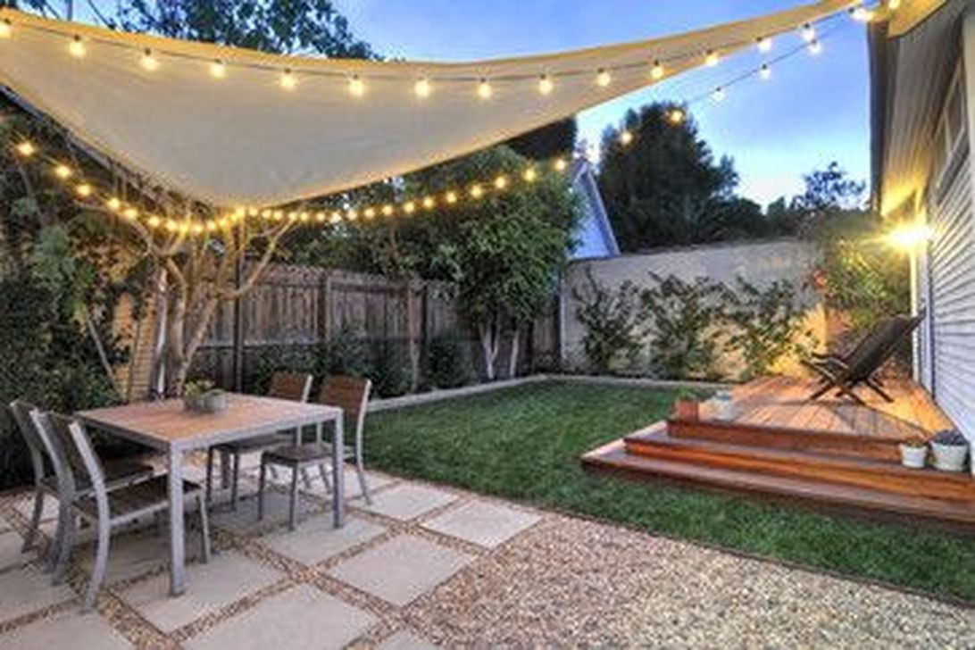 Beautiful Small Backyard Landscaping Ideas 14
