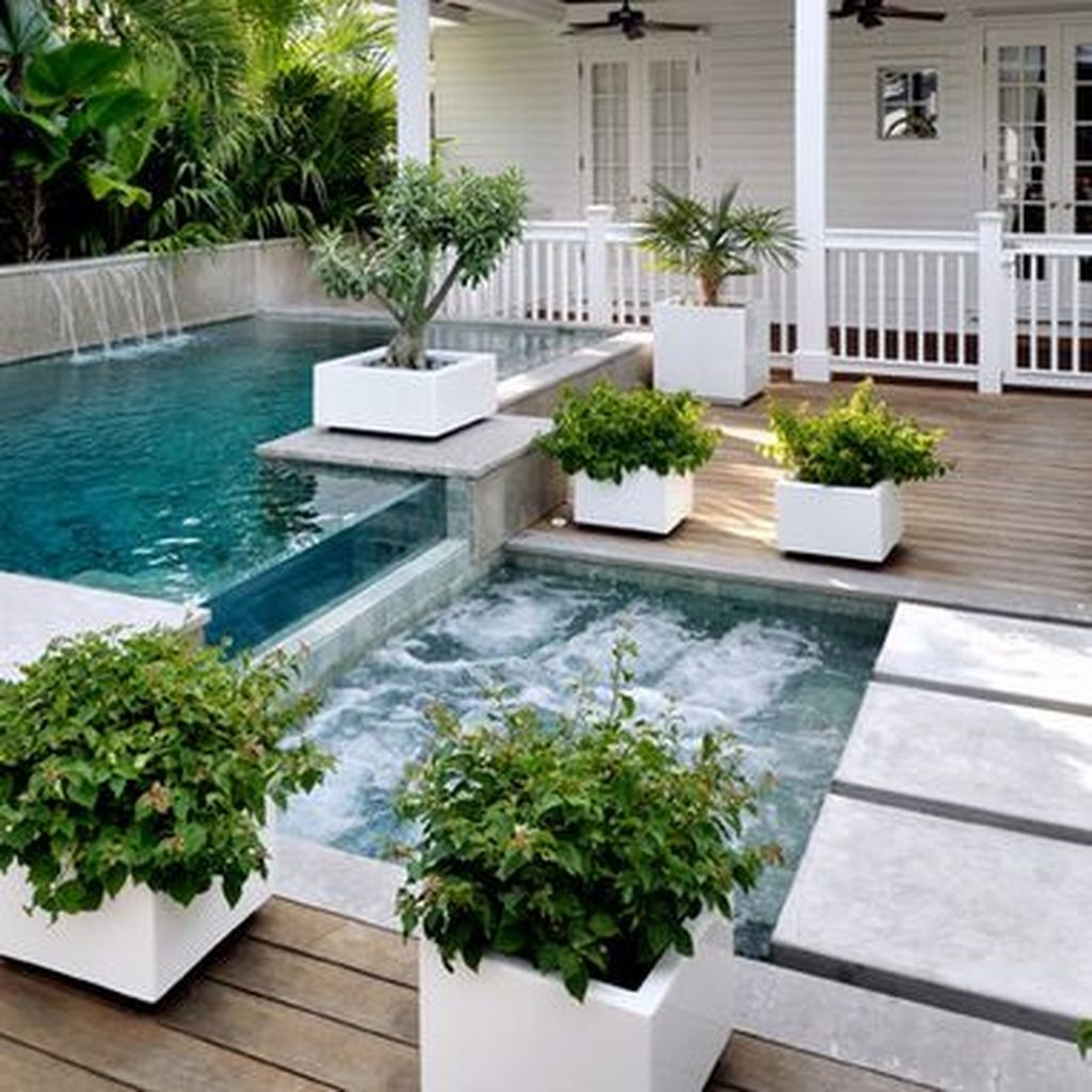 Beautiful Small Backyard Landscaping Ideas 30