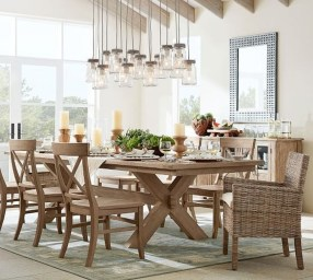 Popular Winter Dining Room Decorations On Your Table 05