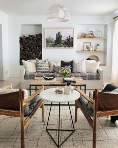 Stunning Winter Living Room Decor Ideas You Should Try 03