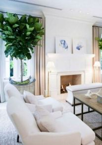 Stunning Winter Living Room Decor Ideas You Should Try 05