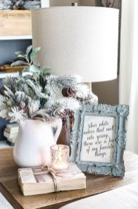 Stunning Winter Living Room Decor Ideas You Should Try 14