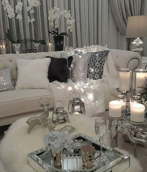 Stunning Winter Living Room Decor Ideas You Should Try 43