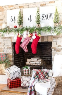 The Best Christmas Fireplace Decoration For Any Home Model 02