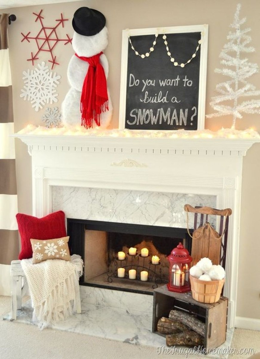 The Best Christmas Fireplace Decoration For Any Home Model 05