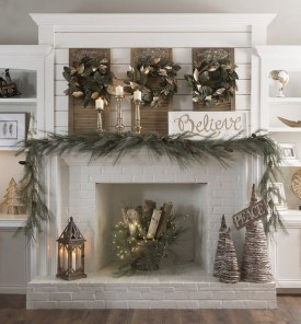 The Best Christmas Fireplace Decoration For Any Home Model 07