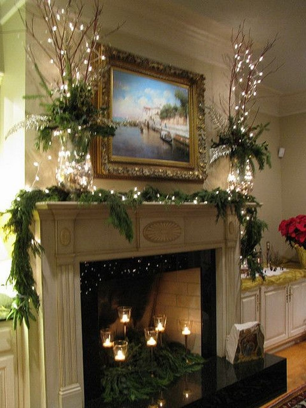 The Best Christmas Fireplace Decoration For Any Home Model 15