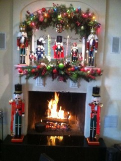 The Best Christmas Fireplace Decoration For Any Home Model 18