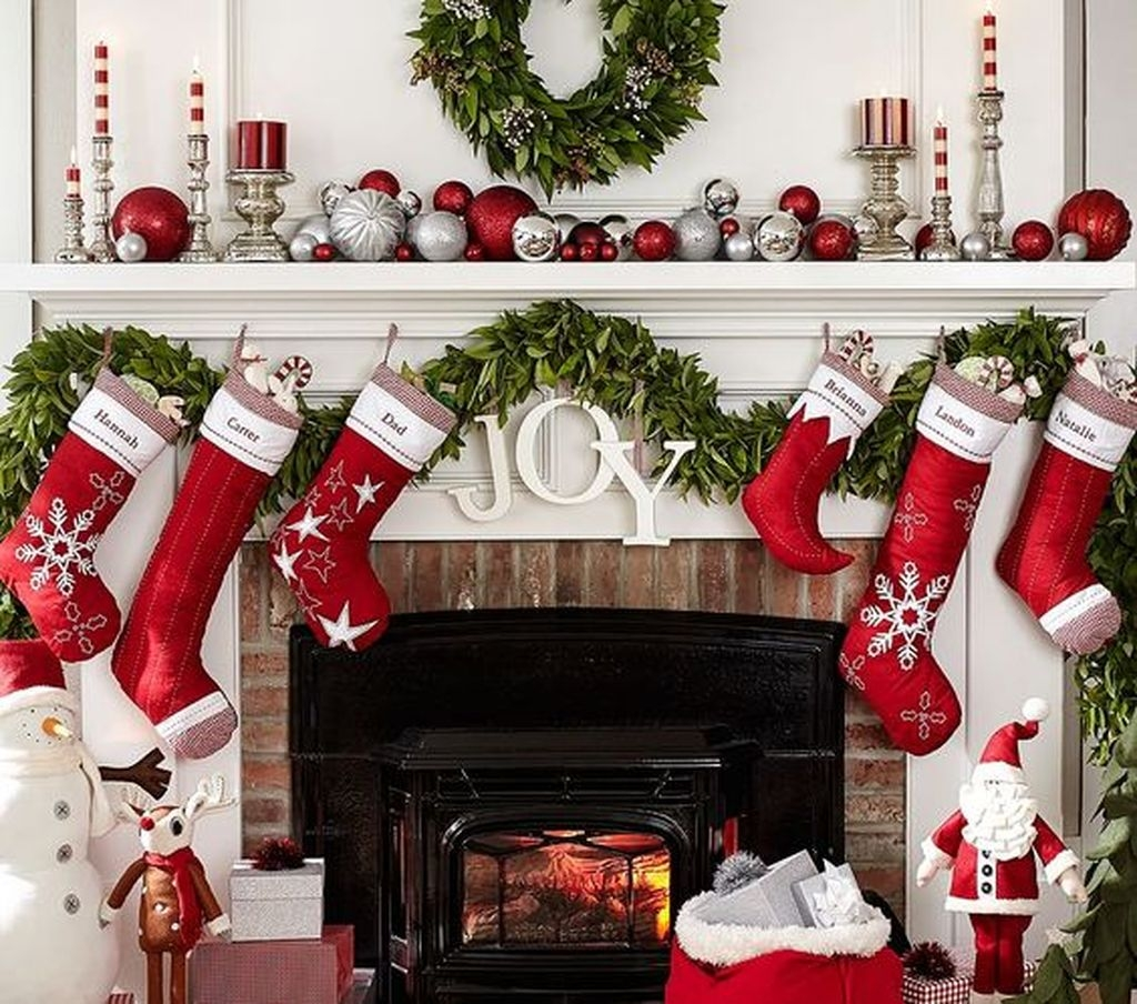 The Best Christmas Fireplace Decoration For Any Home Model 21