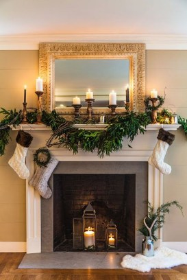 The Best Christmas Fireplace Decoration For Any Home Model 27