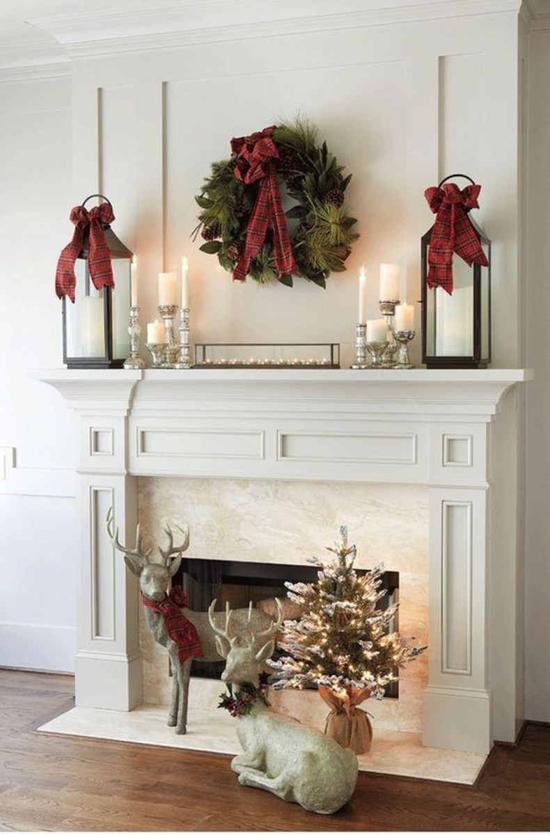 The Best Christmas Fireplace Decoration For Any Home Model 30