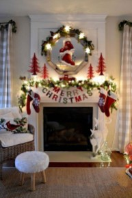 The Best Christmas Fireplace Decoration For Any Home Model 41