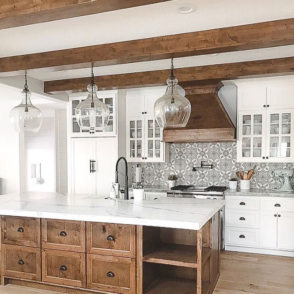 Amazing Remodeling Farmhouse Kitchen Decorations 08