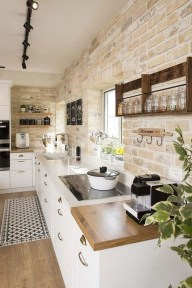 Amazing Remodeling Farmhouse Kitchen Decorations 22