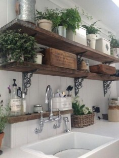 Amazing Remodeling Farmhouse Kitchen Decorations 42