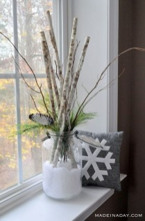 Applying Wooden Planks Correctly To Make Rustic Winter Home Decoration 23