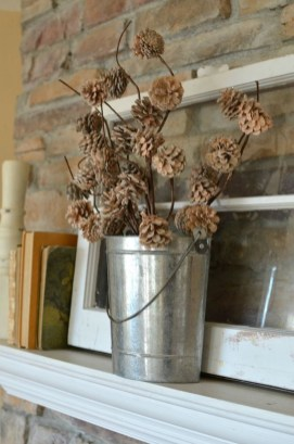 Applying Wooden Planks Correctly To Make Rustic Winter Home Decoration 27