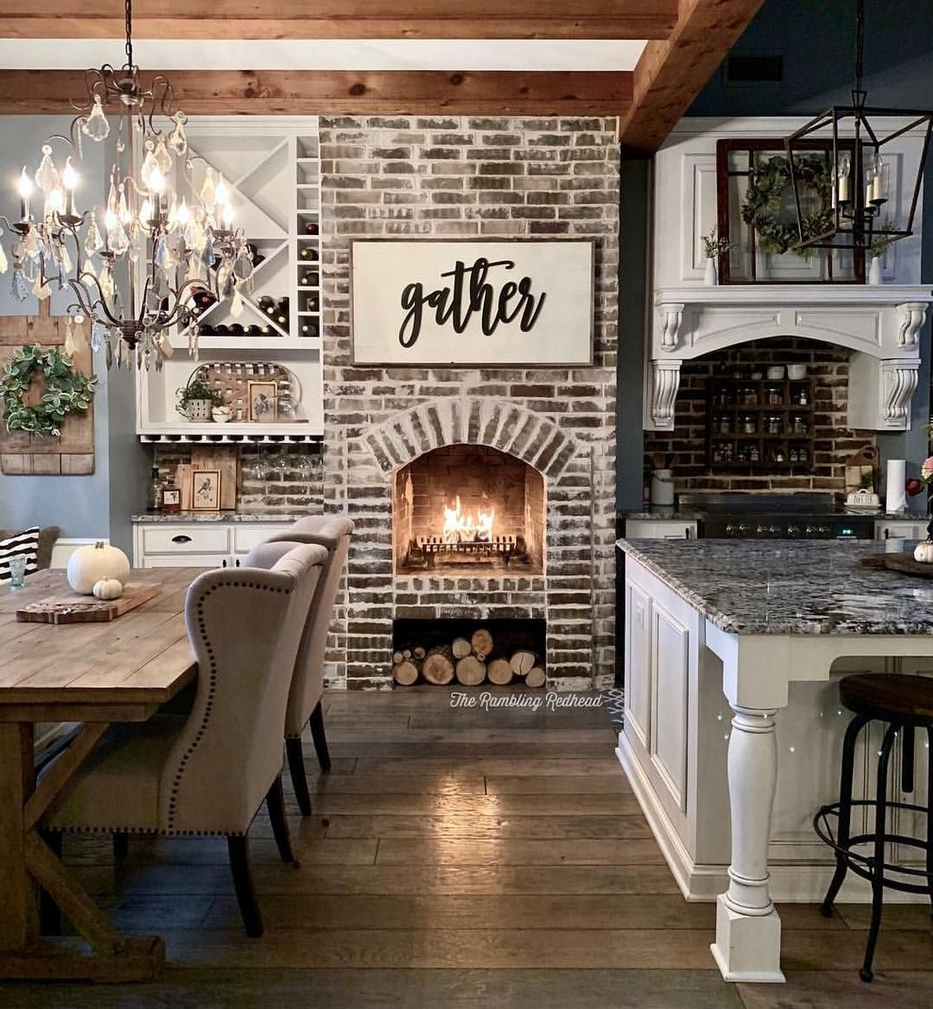 Awesome Fireplace Design Ideas For Small Houses 09