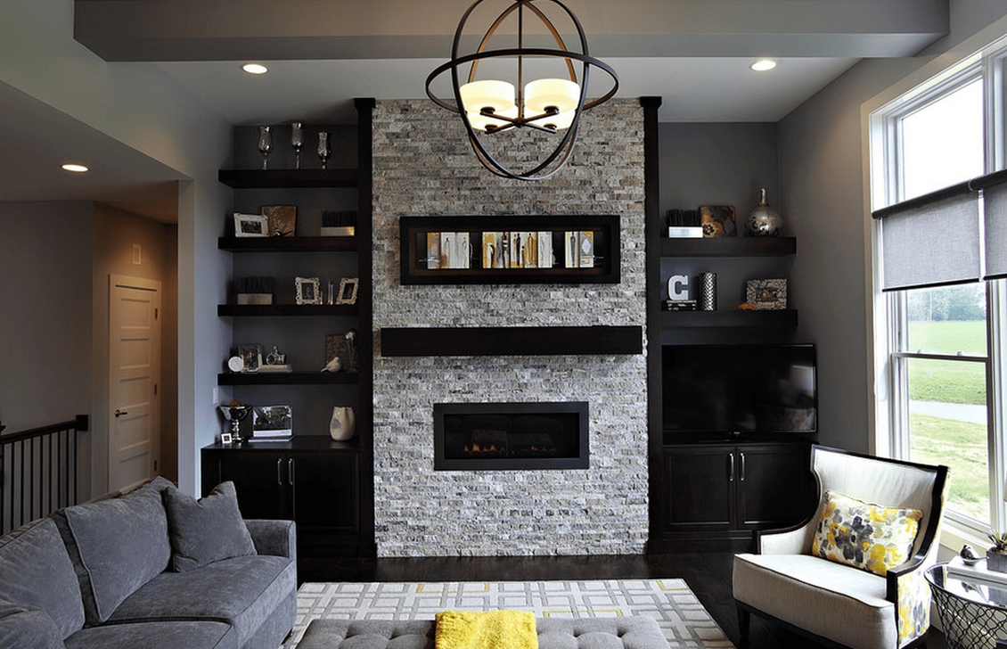 Awesome Fireplace Design Ideas For Small Houses 30