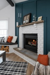 Awesome Fireplace Design Ideas For Small Houses 40